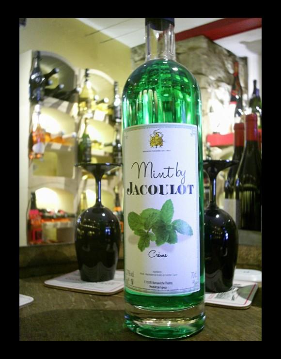 Crème de Menthe Mint by Jacoulot Distillerie Jacoulot