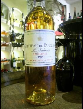Bordeaux Sauternes 1985 Château de Fargues
