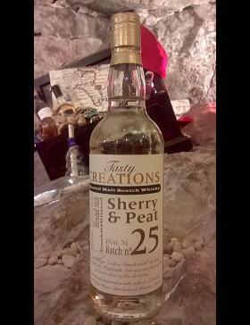 Batch n°25 Sherry & Peat 43%
