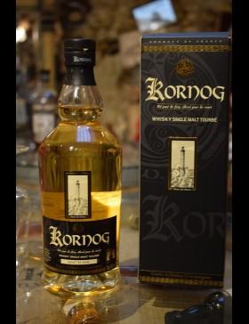 Kornog ROC'H HIR Single Malt Peated 46%