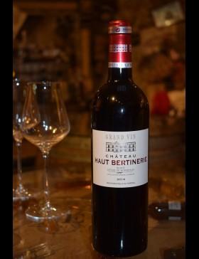 Bordeaux Côtes de Bordeaux Blaye 2014 Château Haut Bertinerie