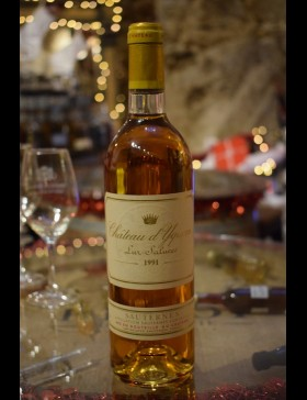Bordeaux Premier Grand Cru Classé Sauternes Lur-Saluces 1991 Château d'Yquem
