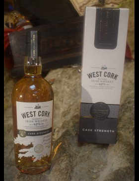 West Cork Cask Strength 62%