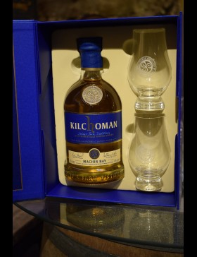 Coffret Kilchoman Machir Bay 46% & 2 verres