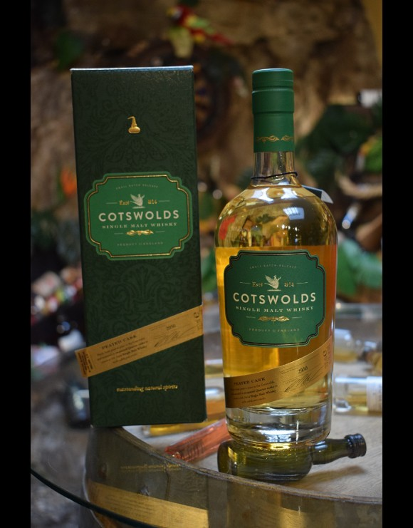 Cotswolds 3 Ans Peated 60,2%