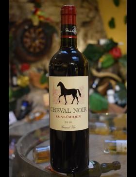 Bordeaux Saint Emilion Cheval Noir 2018 Famille Mälher-Besse
