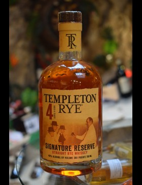 Templeton Rye 4 Ans 40%