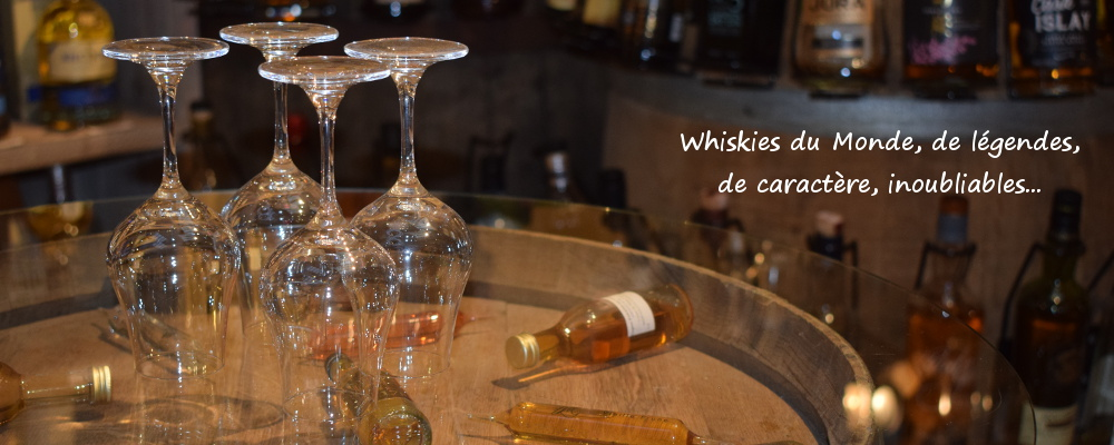 Whiskies du monde cave De Vigne en Vin Audierne Bretagne