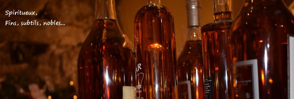 Spiritueux alcools cave de vigne en vin audierne bretagne