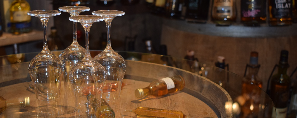whiskies cave de vigne en vin audierne finistère bretagne