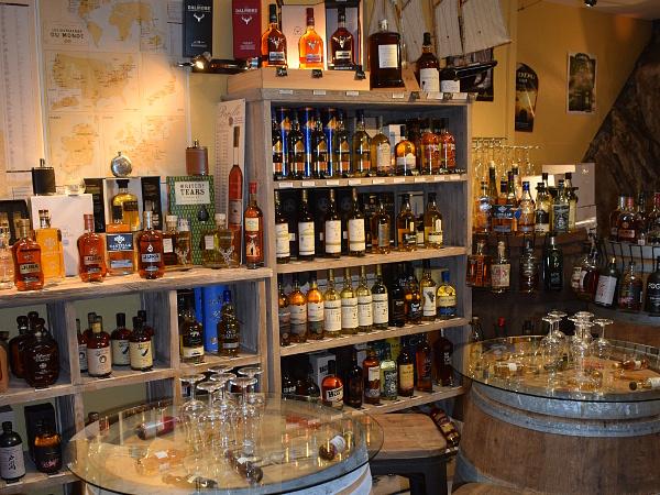 dégustation whiskies du monde nouvelle cave DE VIGNE EN VIN AUDIERNE Finistère Bretagne