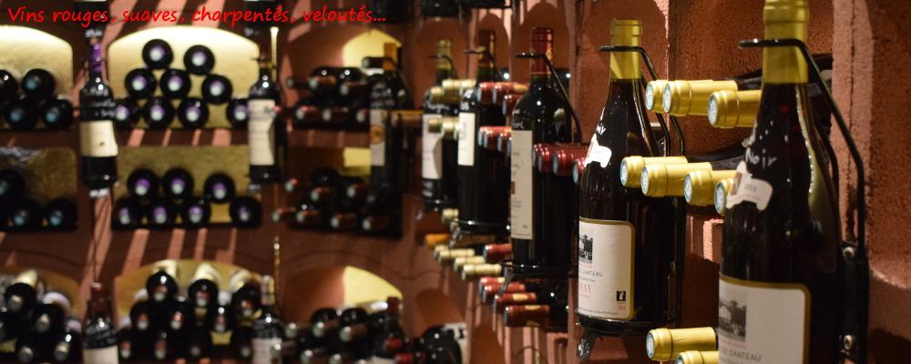Vins rouges cave De Vigne en Vin Audierne Bretagne