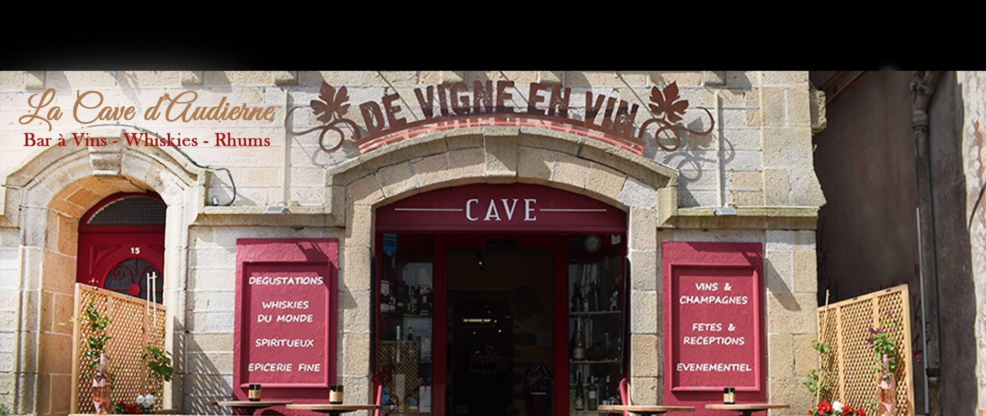 Devignenvin - Cave vins Audierne